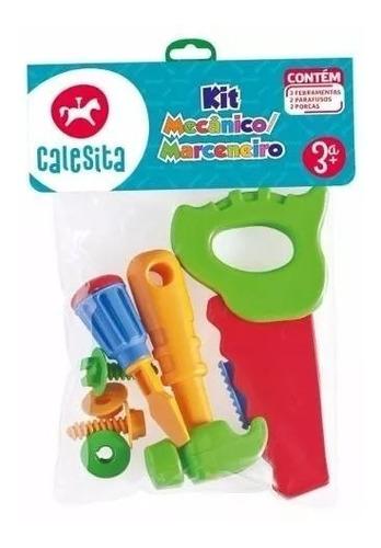 Set Mecanico O Carpintero 7 Piezas Calestita Rivaplast