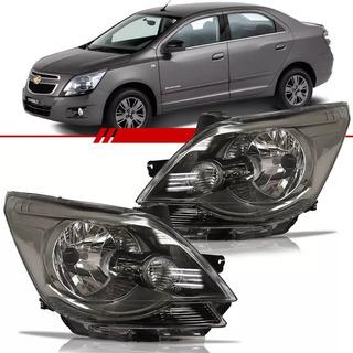 Farol Chevrolet Cobalt Fume 2012 Até 2015 Esquerdo