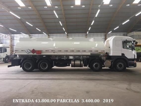P310 Bitruck 2018/19 Tanque 23 Mil Litros Boton