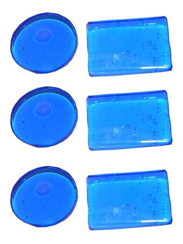 Imagen 1 de 3 de Sordina En Gel Antiarmonicos Para Parches Por 6 Unidades