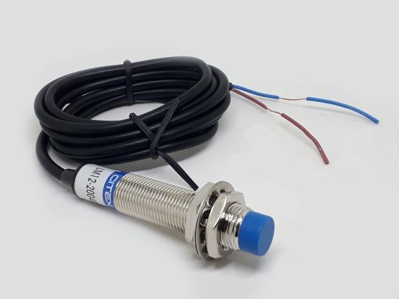 Lm12-2004b Sensor Indutivo Não Faceado 90~250v Nf 4mm