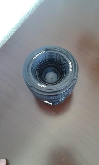 Lente 35mm Yongnuo (nikon)