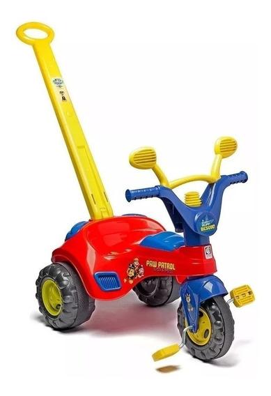 Motoquinha Infantil Triciclo Patrulha Canina Com Buzina