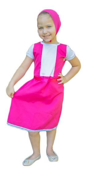 Fantasia Princesa Masha E O Urso Infantil Princesas Disney