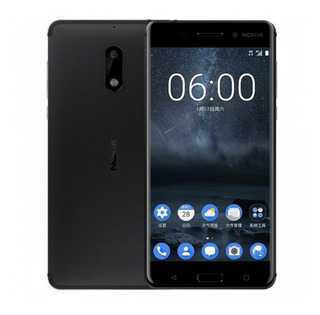 Nokia 6 Android 64gb 4gb Ram Negro ¡¡libre De Fabrica!!