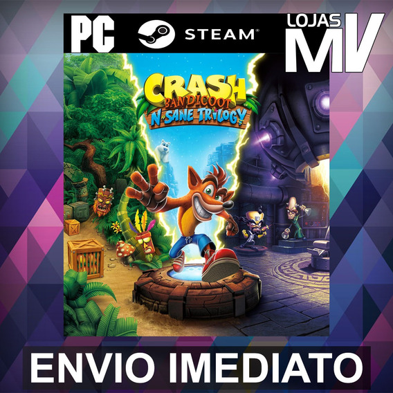 Crash Bandicoot N. Sane Trilogy Pc Steam Gift Presente