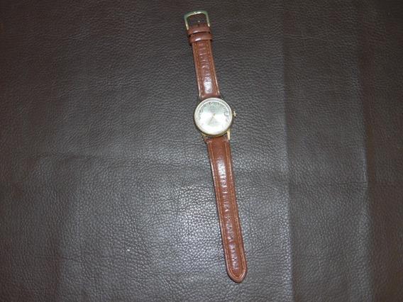 Relógio De Pulso Mondaine A Corda Calendário Funcionando