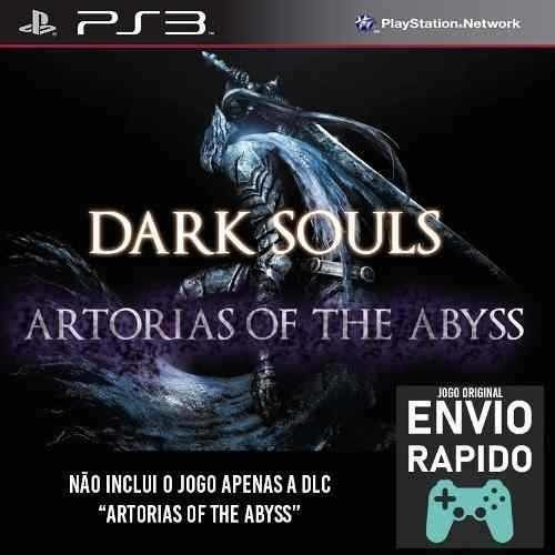 Dlc Artorias Of The Abyss Para Dark Souls 1 - Jogos Ps3
