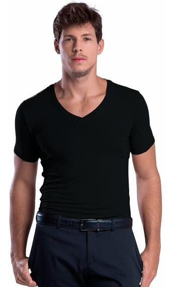 Camiseta Undershirt/ Segunda Pele Anti Suor E Odor Preta
