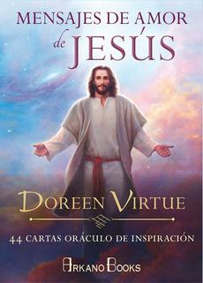 Mensajes De Amor De Jesus, Doreen Virtue, Libro Y 44 Cartas