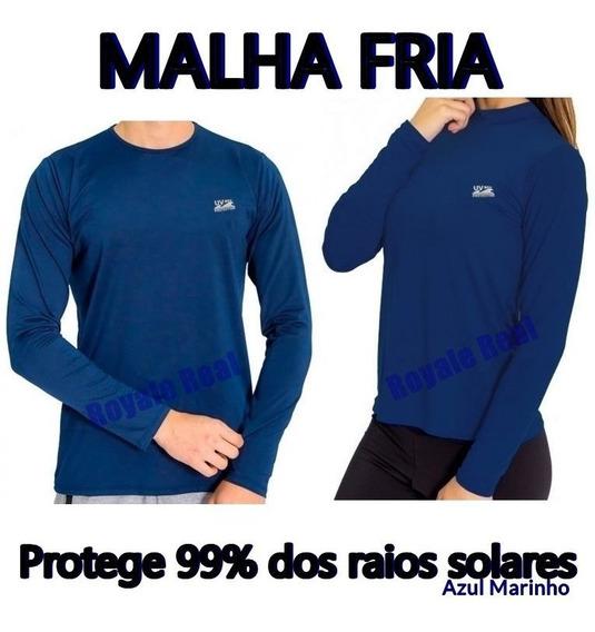 Camisa Uv Original Unissex Masculina E Feminina Malha Fria