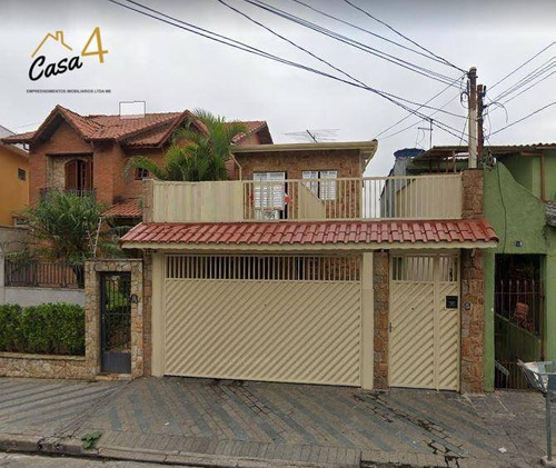 Imagem 1 de 30 de Lindo Sobrado Frontal Ao Lado Do Metrô Guilhermina Com 3 Dormitórios À Venda Por R$ 900.000 - Vila Guilhermina - São Paulo/sp - So0579