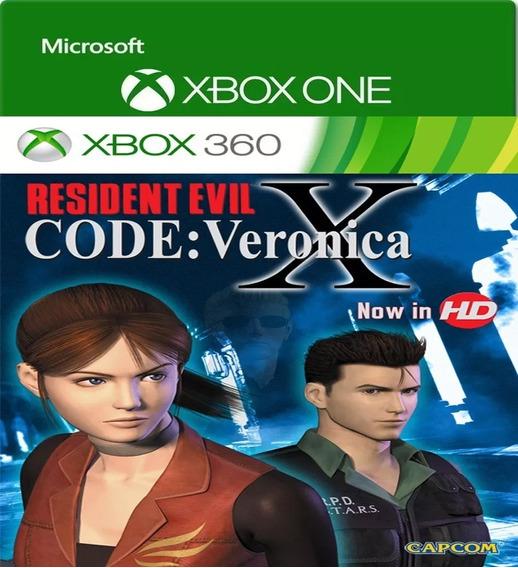 Resident Evil Veronica X Jogo Digital Xbox One/360 Licença