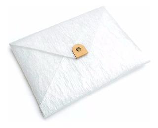 Sobre Postal A4 Trans Carpeta Porta Papel Plastico Reciclado