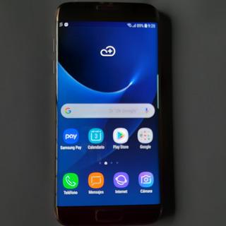 Samsung Galaxy S7 Edge Sm-g935fd 32gb Dual Sim Lib. Falla P.