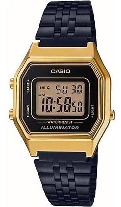 Relógio Casio Vintage Unissex La680wegb1adf Original