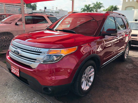 Ford Explorer Xlt Piel V6 2013 Credito Recibo Auto Financiam