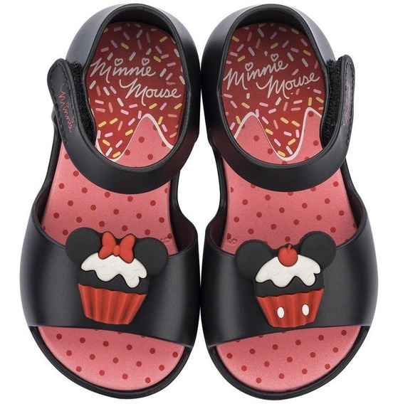 Sandália Infantil Grendene Minnie Fun 21869   Katy Calçados