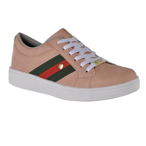 Tênis Plataforma Flatform Cr Shoes Feminino 4031 Preto