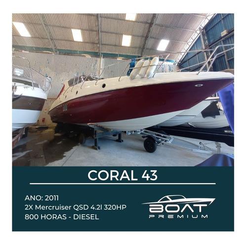 Coral 43, 2011, 2x Mercruiser Qsd 4.2l 320hp - Regal - Real