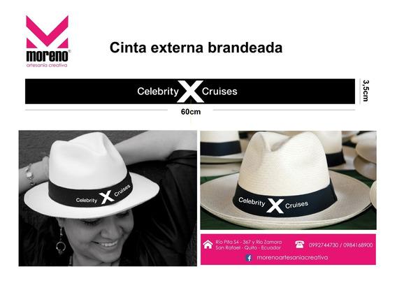 Sombreros Paja Toquilla Personaliados, Brandeados