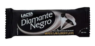 Chocolate Lacta Diamante Negro 20g