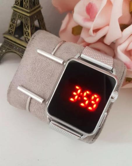 Relógio Digital Para Mulher Várias Cores Barato