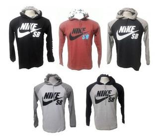 Kit C/5 Camisetas Manga Comprida Nike Sb