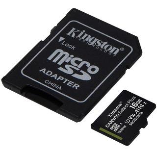 Cartão De Memória Kingston Canvas Select Plus Microsd 16gb
