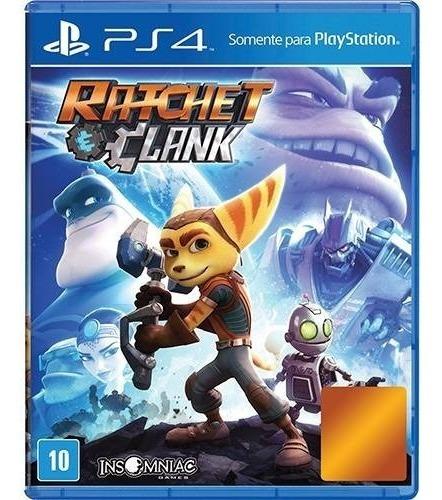 Jogo Ratchet & Clank - Ps4 - Playstation 4 Mídia Física