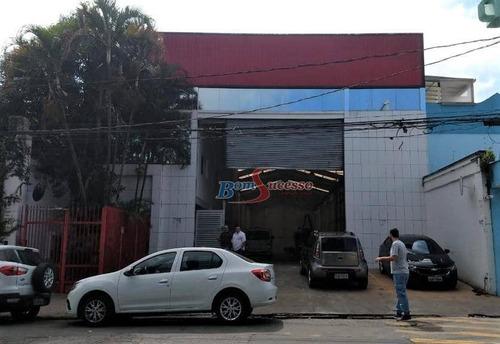Imagem 1 de 13 de Galpão Para Alugar, 1200 M² Por R$ 28.000,00/mês - Jardim Independência - São Paulo/sp - Ga0053