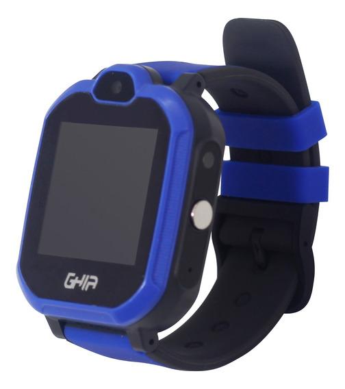 Ghia Smart Watch Kids 4g Azul-negro/ 1.44 Pulgadas Touch Con