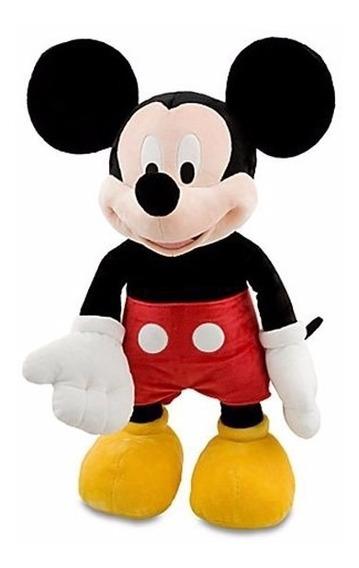 1 Boneco De Pelucia Mickey Músical Tam:30cm + Brinde
