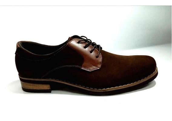 Zapatos Casuales De Vestir Cuero