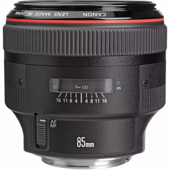 Objetiva Canon Ef 85mm F/1.2 L Ii Usm