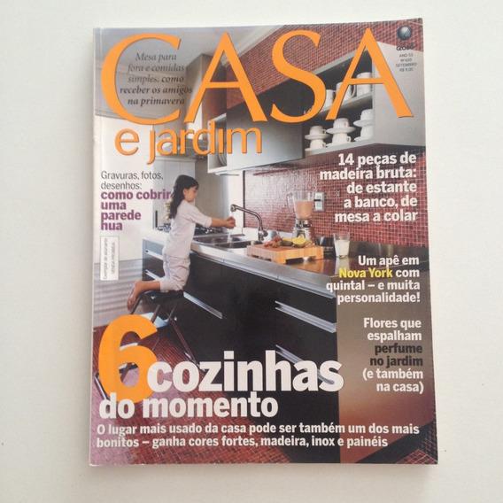Revista Casa E Jardim N620 Set2006 Como Cobrir Parede Nua C2