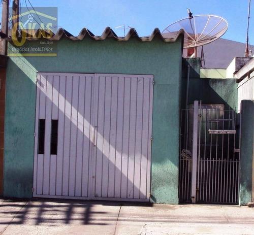 Imagem 1 de 11 de Casa Com 3 Dormitórios À Venda, 96 M² Por R$ 330.000,00 - Vila Amorim - Suzano/sp - Ca0162