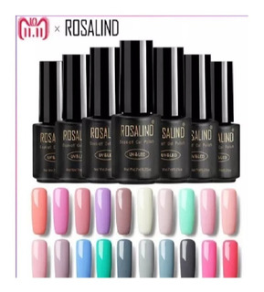 Esmalte Uñas Gel Rosalind Uv Led Arte Semi Permanente