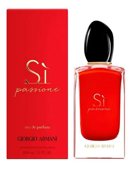 Perfume Sí Passione Giorgio Armani 100ml Feminino Original