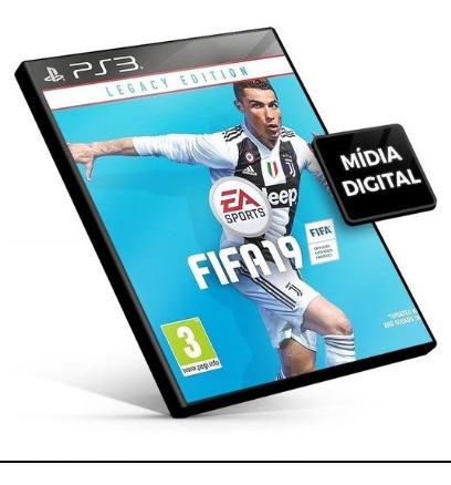 Fifa 2019 Ps3, Pes 2018 Ps3 Mídia Digital Leia Descrição