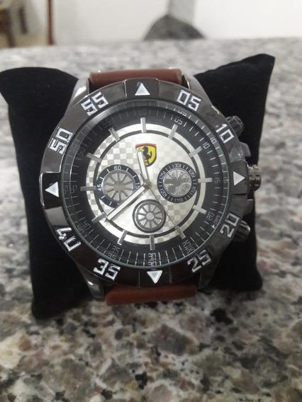 Relógio De Pulso Masculino Ferrari Barato - Frete Gràtis Top