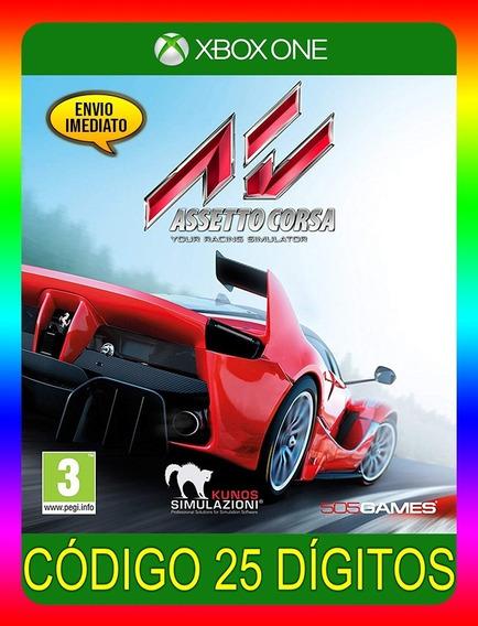 Assetto Corsa Xbox One - 25 Dígitos (envio Já)