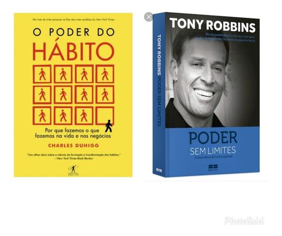 Kit De Livros O Poder Do Hábito+ Poder Sem Limites