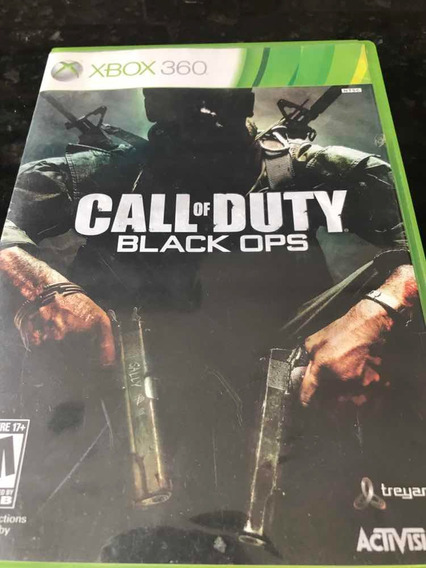 Jogo Xbox 360 Call Of Duty Black Ops