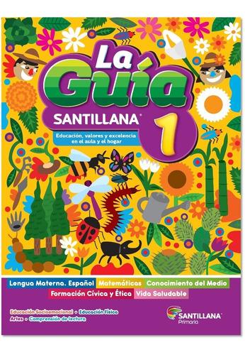 Imagen 1 de 1 de Caja 14 Paq Guía Santillana 1º Primaria 2021