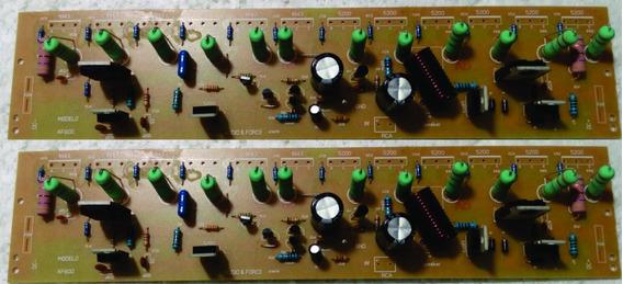 Placas Montada Amplificador 600w 2 Placas