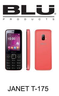 Celular Blu T175 Câmera Rádio Fm Jogos Bluetooth Vermelho