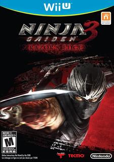 Juego Wii U - Ninja Gaiden 3 , Sellado Y 100% Original