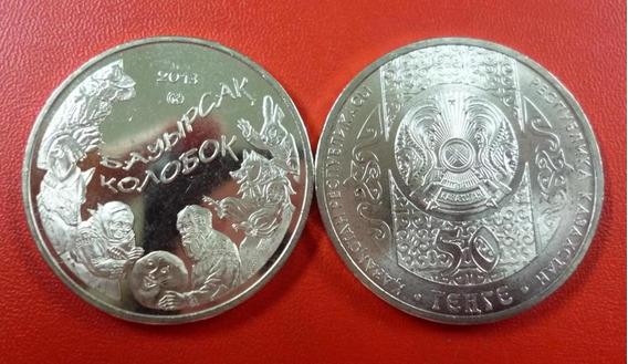 Kazajistan Moneda 50 Tenge 2013 Kolobok