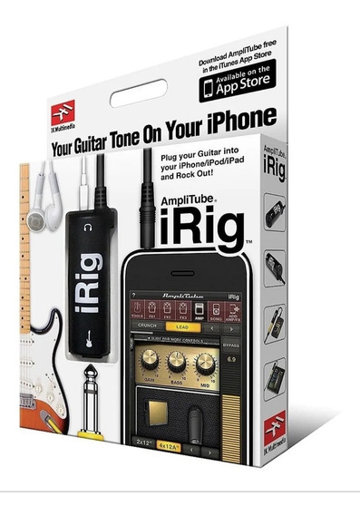 Interface De Áudio Para Celular Guitar Bass Live Irig